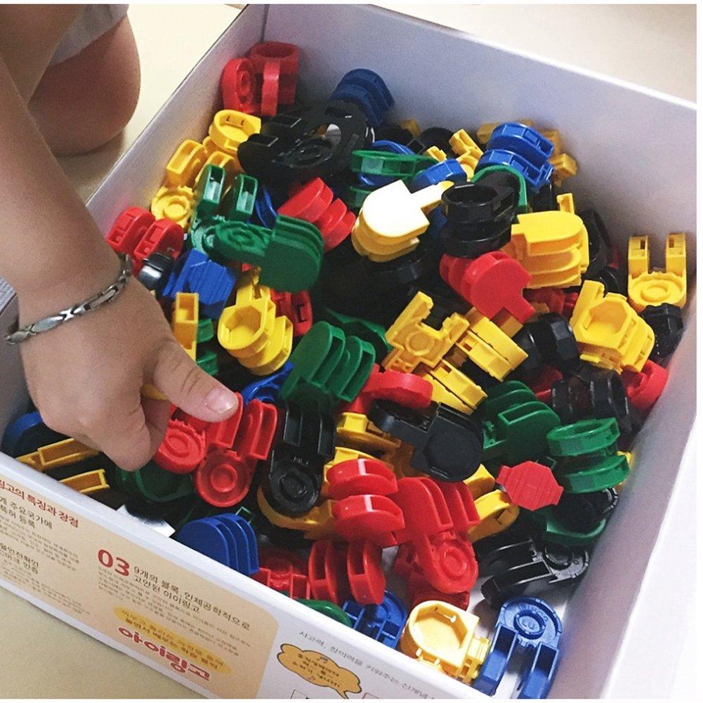 iRiNGO The starter Set 212pcs Transformable Kids Creativity IQ EQ Block Toy by iRiNGO The starter (Image #6)