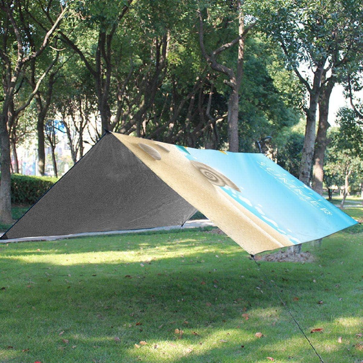 Txc9ds Star Butter-Fly - Tappetino da picnic all'aperto per parco, spiaggia, campeggio, portatile, impermeabile Spiaggia delle stelle marine estive