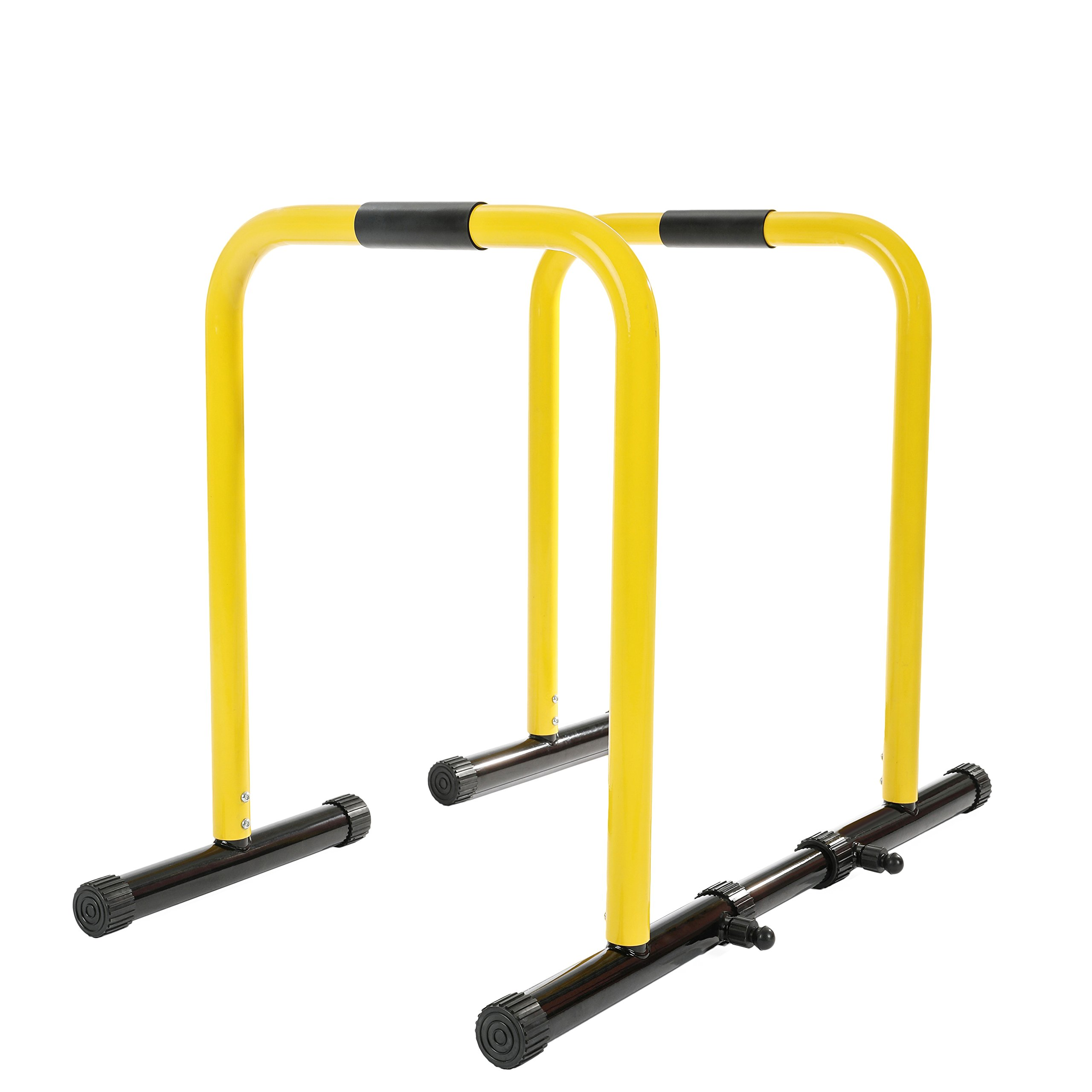 RELIFE REBUILD YOUR LIFE Dip Station Functional Heavy Duty Dip Stands Fitness Workout Dip bar Station Stabilizer Parallette Push Up Stand by RELIFE REBUILD YOUR LIFE (Image #2)