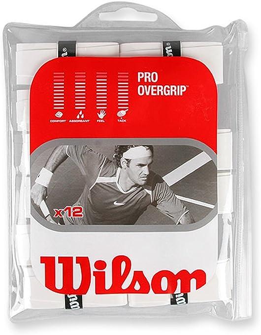 Pack 12 unidades overgrip Wilson Pro: Amazon.es: Deportes y aire libre