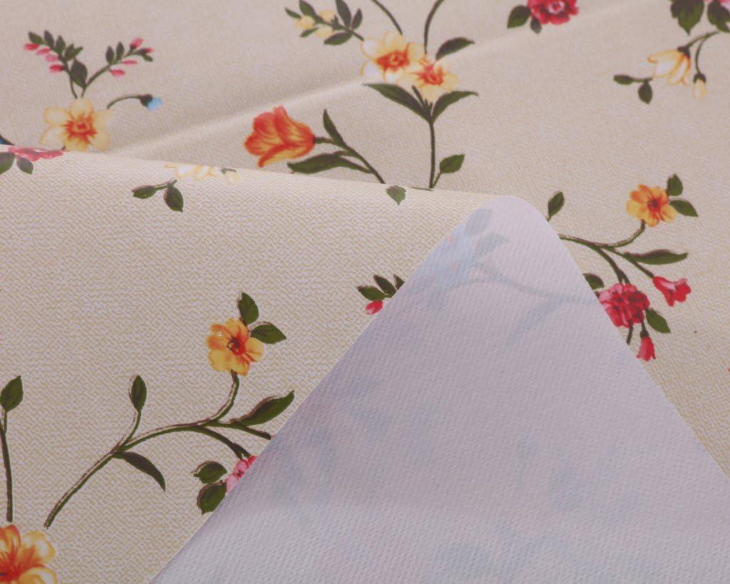 Vinylla Tovaglia in PVC facile da pulire 140x140cm tema: rose inglesi
