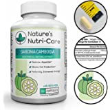 Nature's Nutri-Care Garcinia Cambogia Pure Extract - 80% HCA - 1500 mg daily - 60 or 180 Capsules - Appetite Suppressant and Fat Blocking Weight Loss Supplement - Made in USA, 60