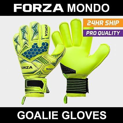 Forza Mondo Goalkeeper Gloves - The Very Best Goalkeeper Gloves On The  Marker for Elite Soccer f262899e6