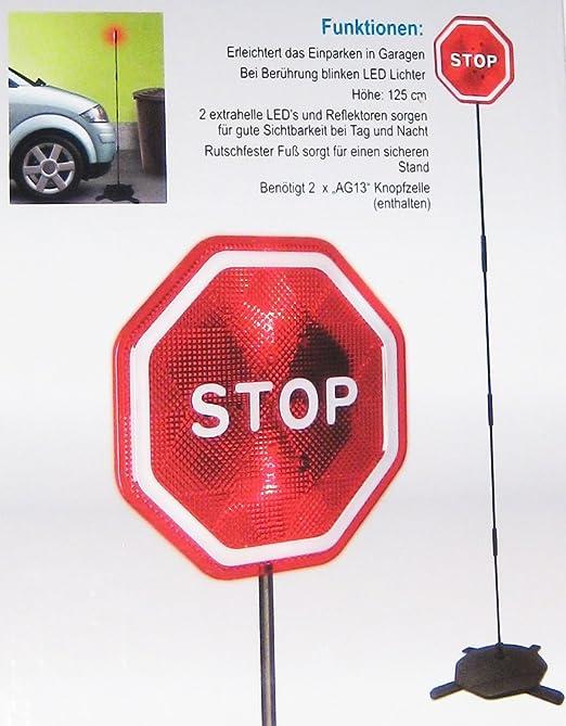 Auto Einparkhilfe Für Garagen Led Stop Stopschild Neu Auto