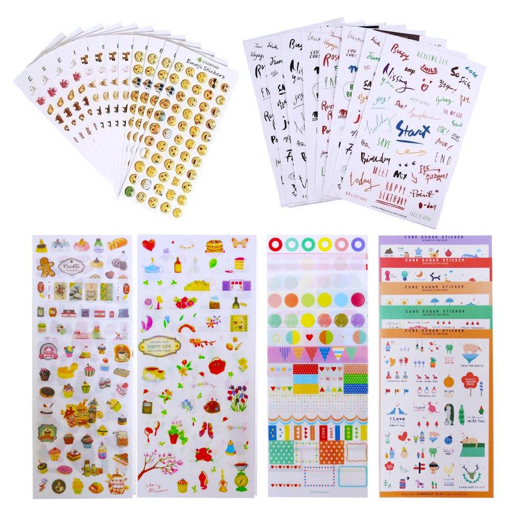 Bullet Journal Stickers Scrapbook Planner Stickers Sheetsplanner
