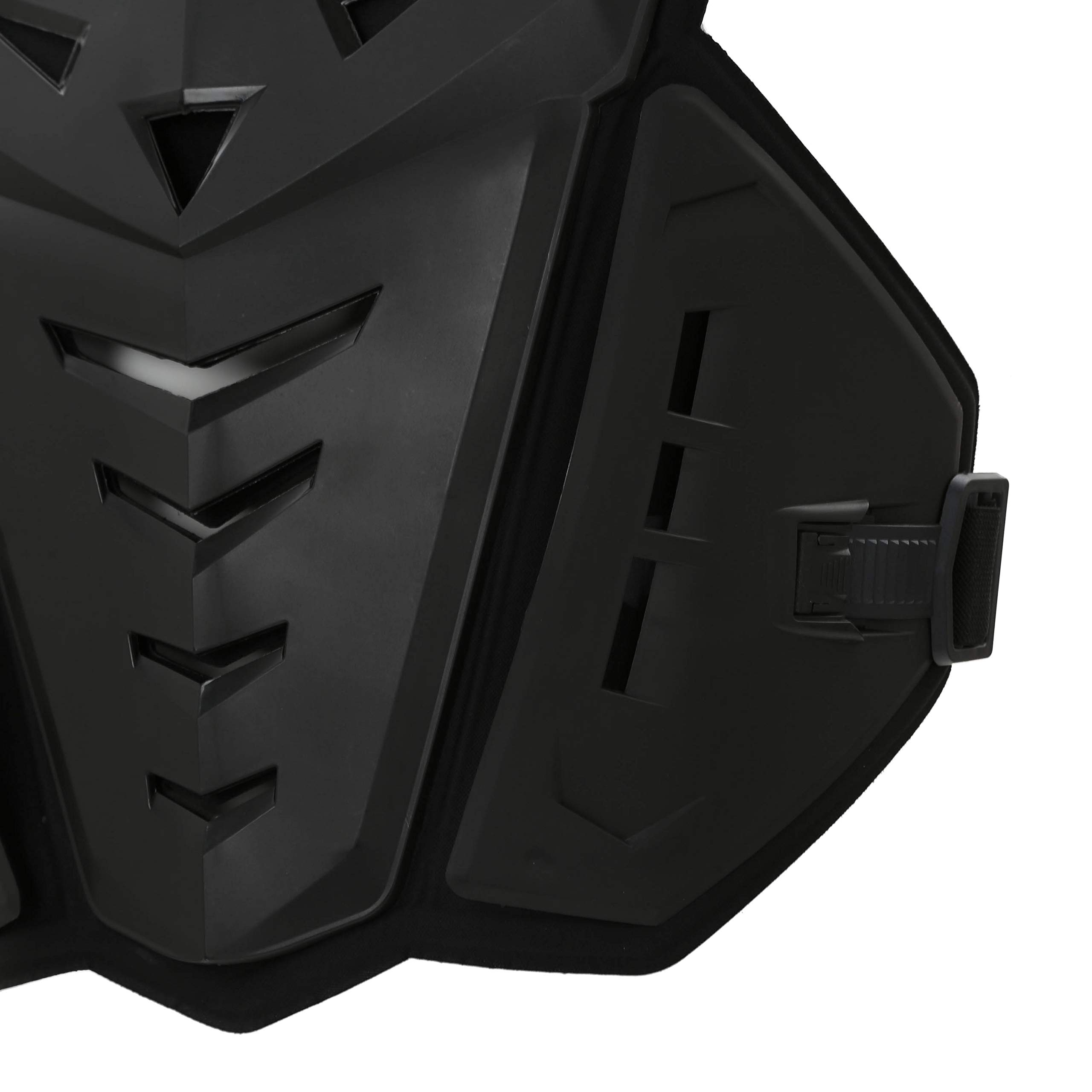 OHMOTOR Chest Back Protector Motorcycle Armor Vest Motorcycle Riding Chest Armor (Black) by OHMOTOR (Image #3)