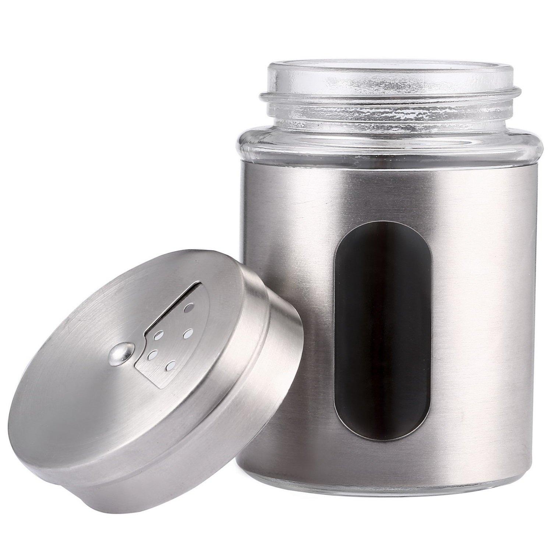 3tlg Vorratsdosen Glas Edelstahl Mit Deckel Luftdicht I Mit