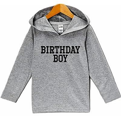 7 ate 9 Apparel Kid's Birthday Boy Hoodie