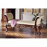 Design Toscano Maison Mehieu Hardwood Bench