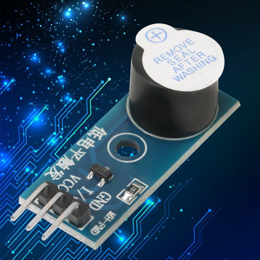 5 pi/èces DC 3.3V-5V Module de sonnerie active Module de capteur dalarme sonore pour Ardinuo jouets /électroniques dispositifs dalarme minuteries