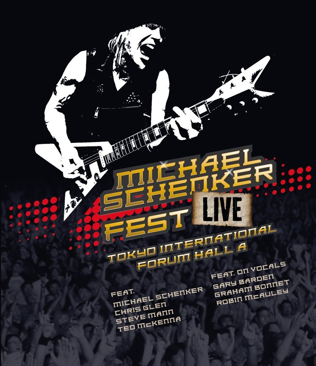 Michael Schenker - Fest-Live Tokyo International Forum Hall A Blu ...