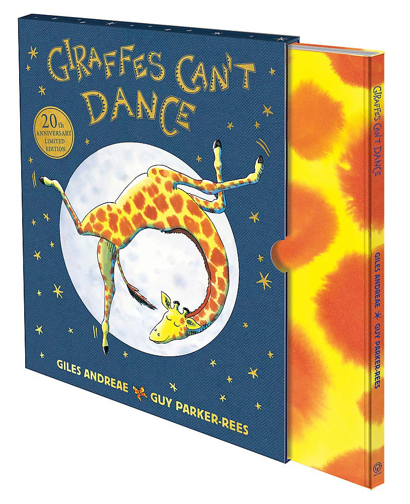 Giraffes Can't Dance: 20th Anniversary Limited Edition: Amazon.co.uk: Giles  Andreae, Guy Parker-Rees: Books