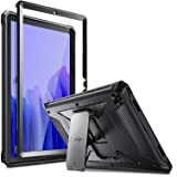Fintie Shockproof Case for Samsung Galaxy Tab A7 10.4 2020 Model (SM-T500/T505/T507), Tuatara Rugged Unibody Hybrid Full Prot