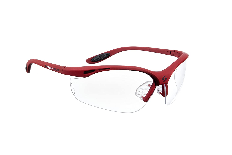 Amazon Gearbox Amber Lens Racquetball Eyewear Sports Outdoors