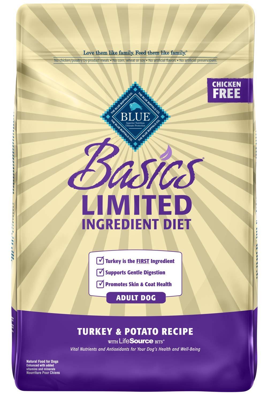 Blue Buffalo Basics Dry Dog Food, Turkey and Potato Recipe, 24-Pound Bag by BLUE Basics (Image #1)