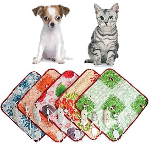 mascotas perros accesorios deportiva perros cama de perrito almohadilla caliente Sannysis Almohadillas térmicas eléctricas Manta Mat Cama para perro, ...