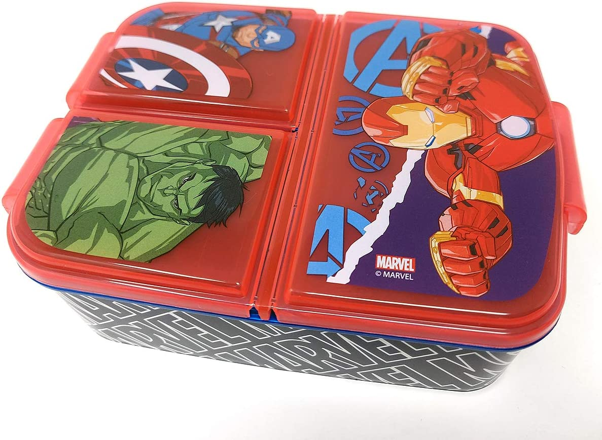 DDI 2321980 Avengers Infinity War Large Lunch Tin Box with Puzzle Case of 30