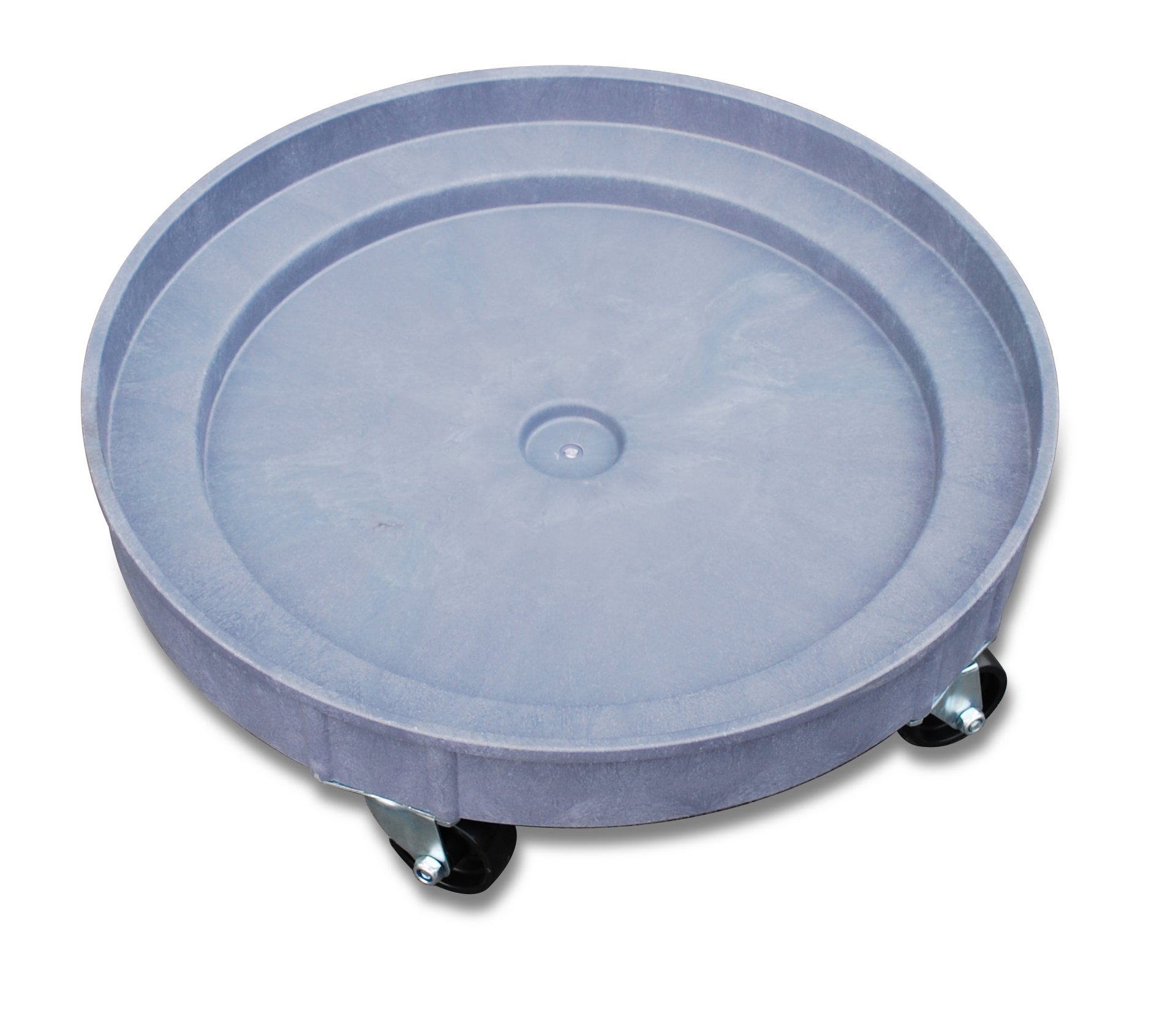 JLTC PDD35 Plastic Drum Dolly for 30 gal and 55 gal Drums, 900 lb. Capacity