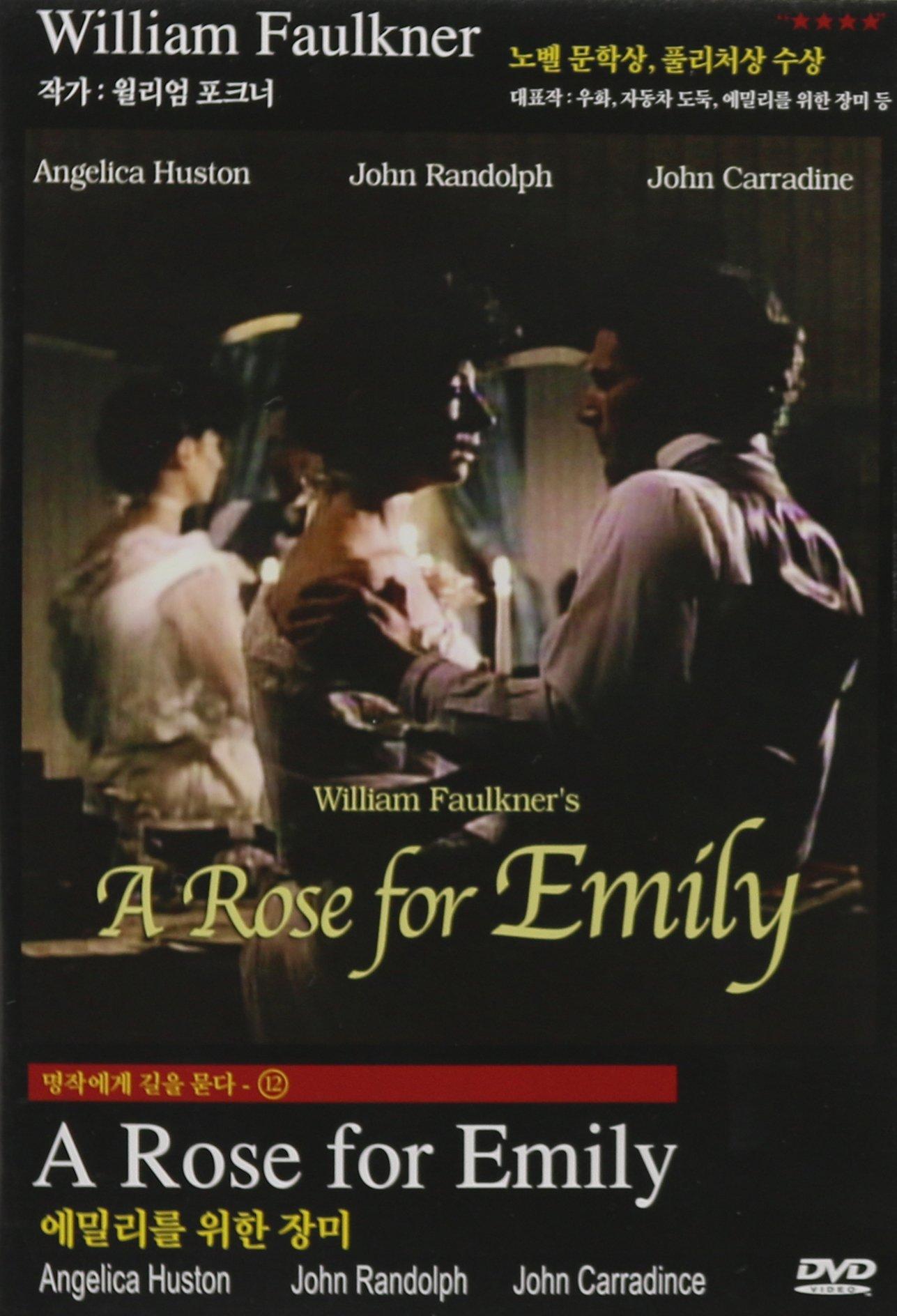 DVD : Anjelica Huston - Rose For Emily (Asia - Import, NTSC Format)