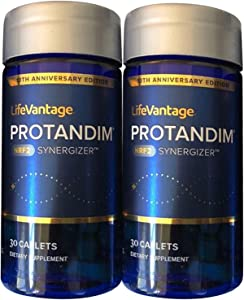 Protandim NRF2 Synergizer (60 Caplets) (2 Bottle) 100% Natural Antioxidant Supplement Extract, for Heart Health, Pain Relieve, for Anti-Aging, 100% Made in USA
