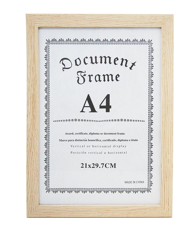 MARCO PARA DIPLOMAS, A4 Y A3, certificados, licencias, títulos ...