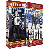 Counting and Talking Wrestling Referee Action Figure