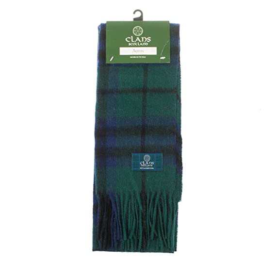 1a84264419d Clans of Scotland - Echarpe - Homme AUSTIN  Amazon.fr  Vêtements et ...