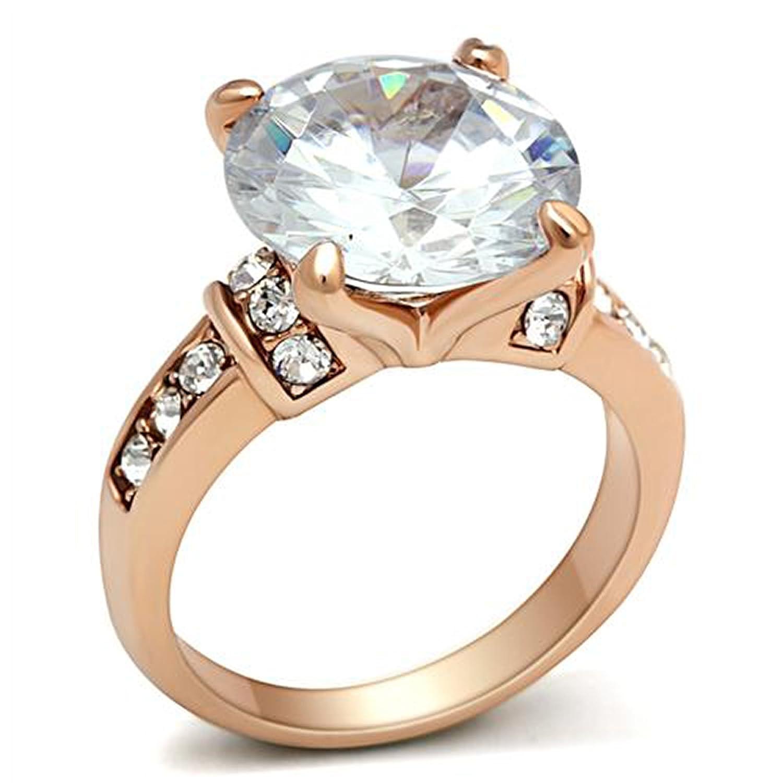 Amazon 6ct Beautiful Round Solitaire Russian Simulated Diamond Wedding Ring Gl144 Jewelry: Russian Diamond Wedding Ring At Websimilar.org