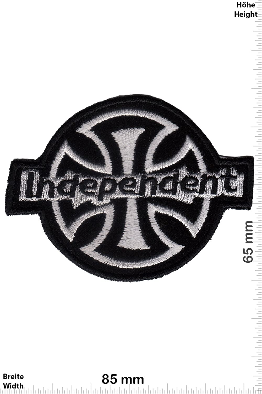 Cool Brands Patch Cool Brands Aufn/äher Truck Company zum aufb/ügeln Very Soft HQ Iron On Independent Skater Independent