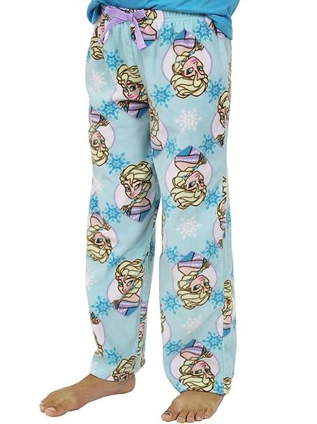 c6d194df3 Amazon.com  Disney Frozen Elsa Little Girls Plush Fleece Lounge ...