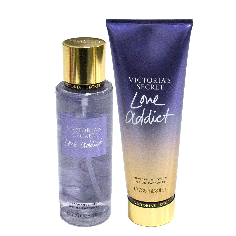 Victoria's Secret Love Addict Gift Set Fragrance Mist Body Lotion