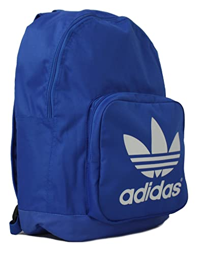 a1b84a4351a7 New Unisex Navy White Adidas Backpack With Adjustable Shoulder Straps -  Blue White -