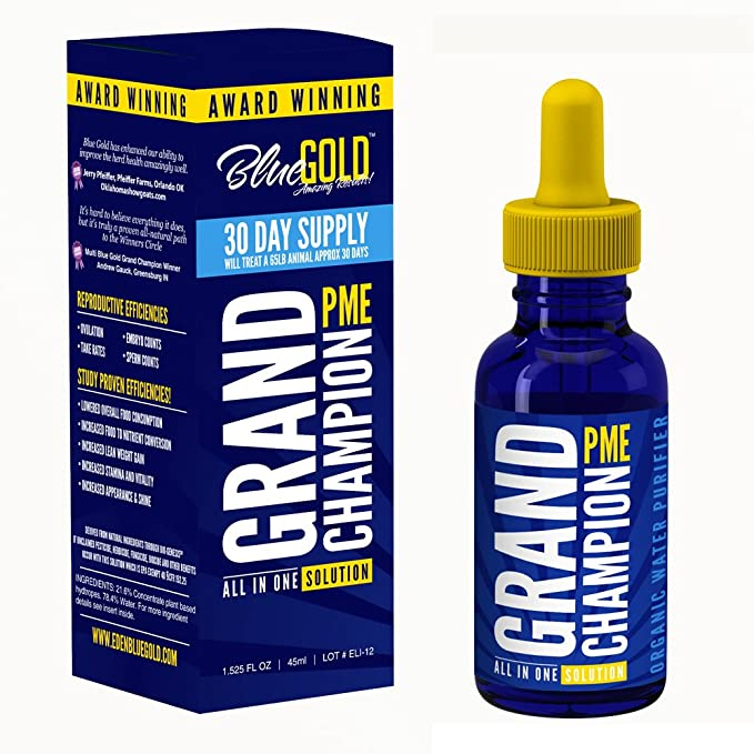 Amazon.com: Blue Gold Grand Champion 30 Day Pet Supplement ...
