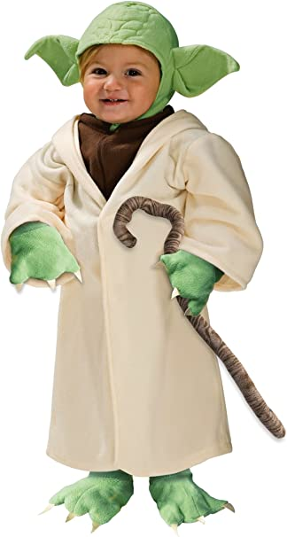 Amazon.com: Jedi Master Yoda Dress Up Disfraces de los niños ...