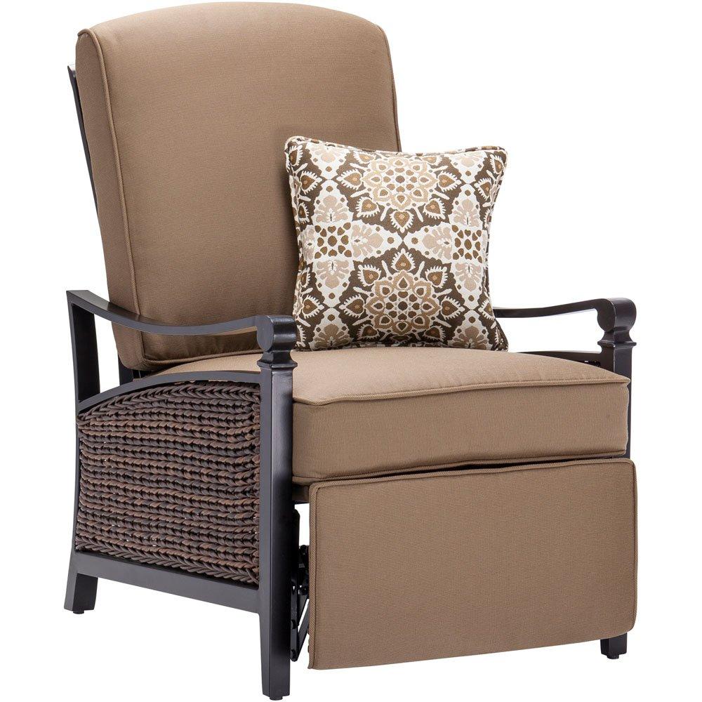 La Z Boy Outdoor Carson Luxury Recliner  MochaReclining Patio Chairs   Amazon com. Electric Chair Repairs Gold Coast. Home Design Ideas