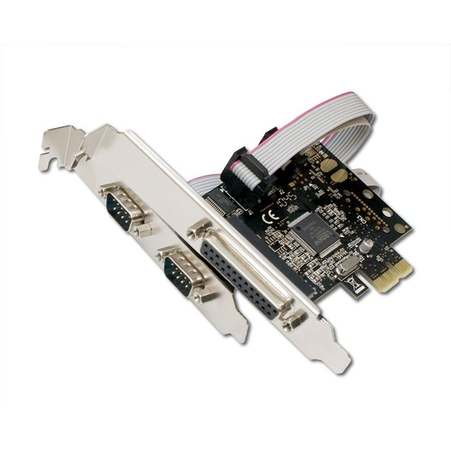 Amazon.com: SYBA – Tarjeta IO sd-pex50030 2 x port Serial/1 ...