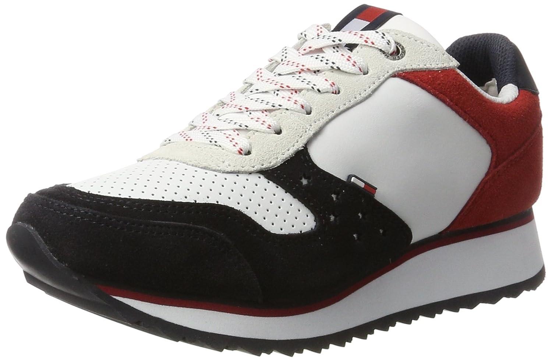 Tommy Jeans SM D1385angel 3c1, Zapatillas para Mujer 40 EU|Multicolor (Rwb)