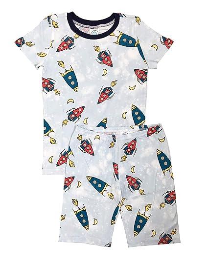 a482e1af4 Amazon.com  Esme Boys Sleepwear Pajamas Short Sleeve Top   Shorts ...