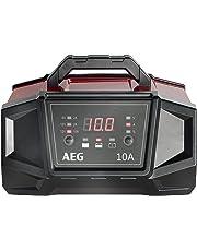 AEG Automotive 158008 Werkstatt-Ladegerät WM Ampere für 6 und 12 Volt Batterien, mit Autostart-Funktion, CE, IP 20, 10 A