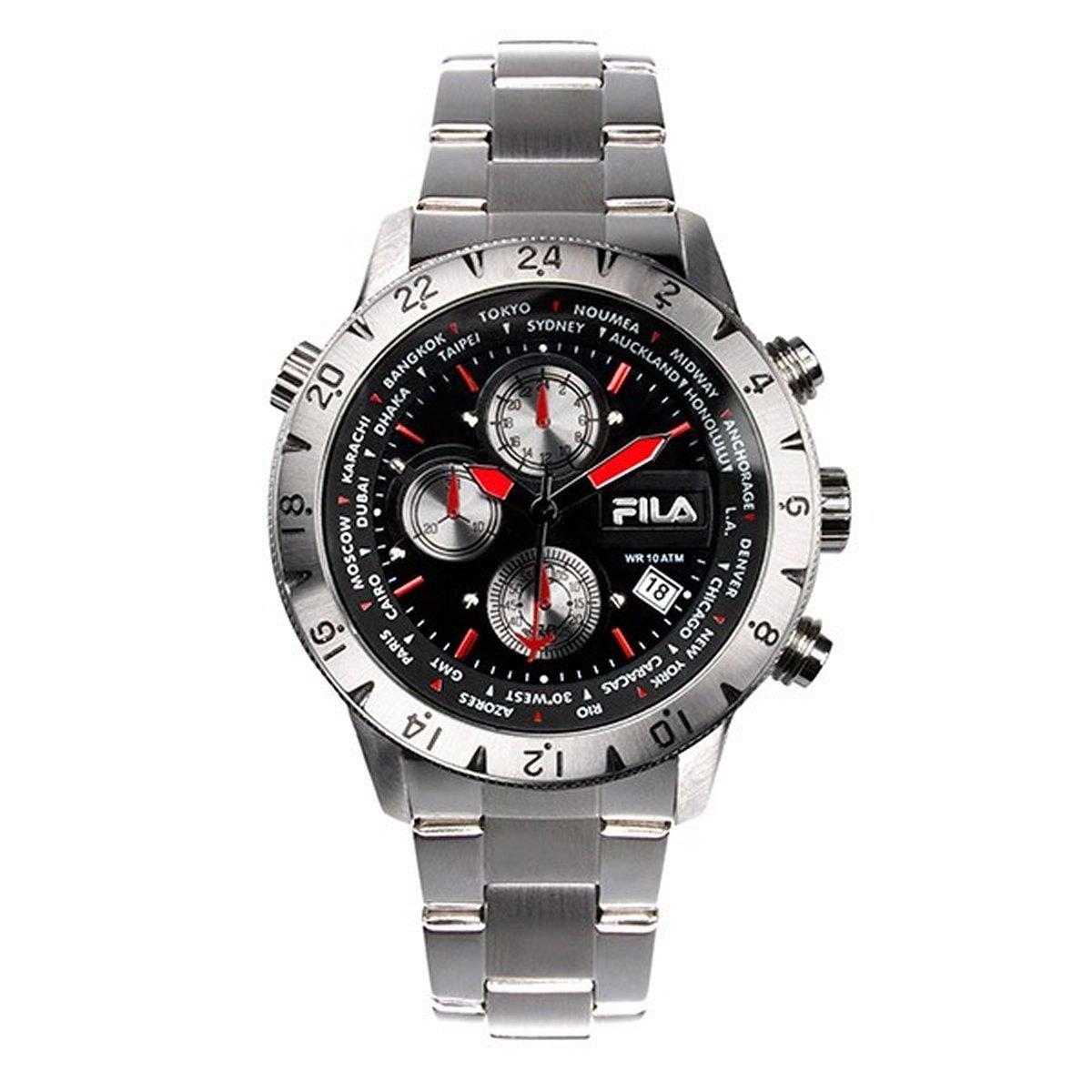 Fila Herren Armbanduhr Chronograph 38-007-001 - NEU - 10414