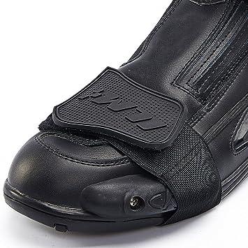 ILM バイク用品プロテクター シフトガードシューズパッド ブーツ(ブラック)
