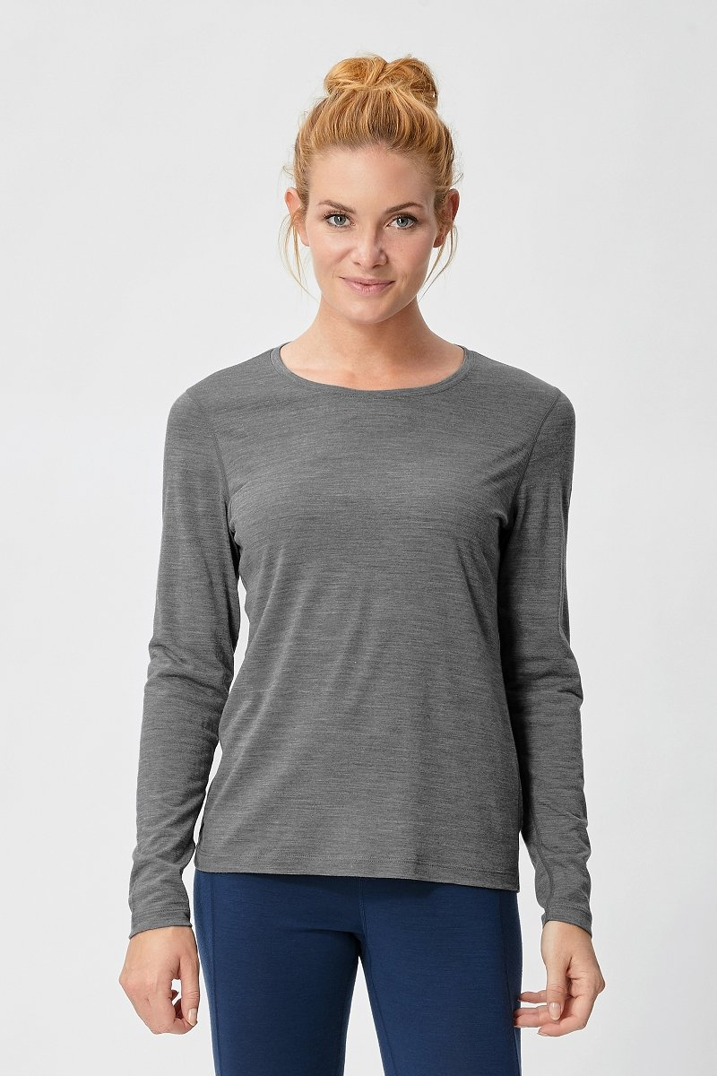 super natural W Base Long Sleeve 140 Función Merino Camiseta Manga Larga SUPHW|#super natural