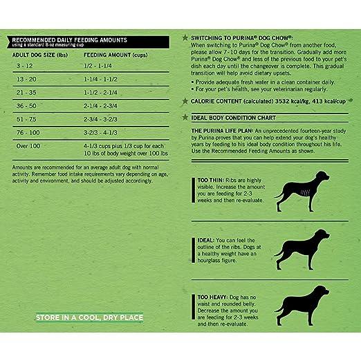 Amazon Purina Dog Chow Complete Adult Dog Food 20 Lb Bag