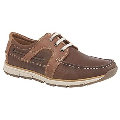 Roamer Superlight Mens Eye Apron Tab Moccasin Leisure Shoes - Abt shoes