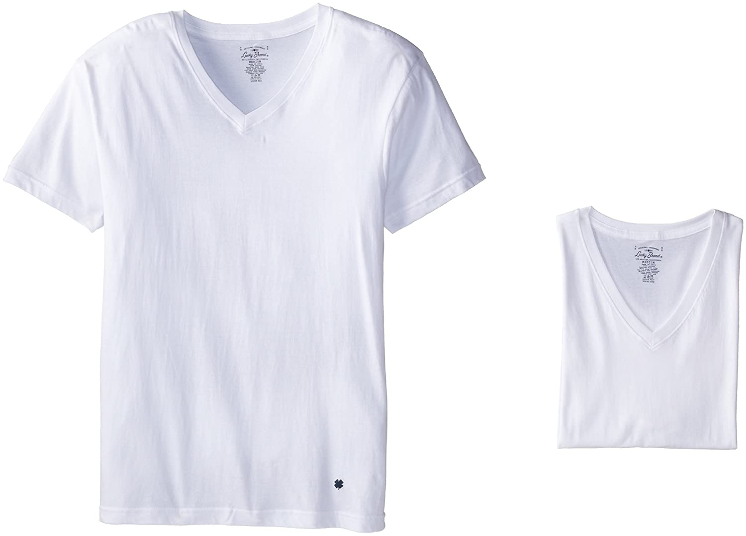 Lucky Brand Men's V-Neck T-Shirts (Pack of 3) LU0011