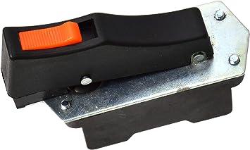 Interruptor de Repuesto Interruptor Compatible con 230mm Amoladora Angular Interruptor para Amoladora Angular