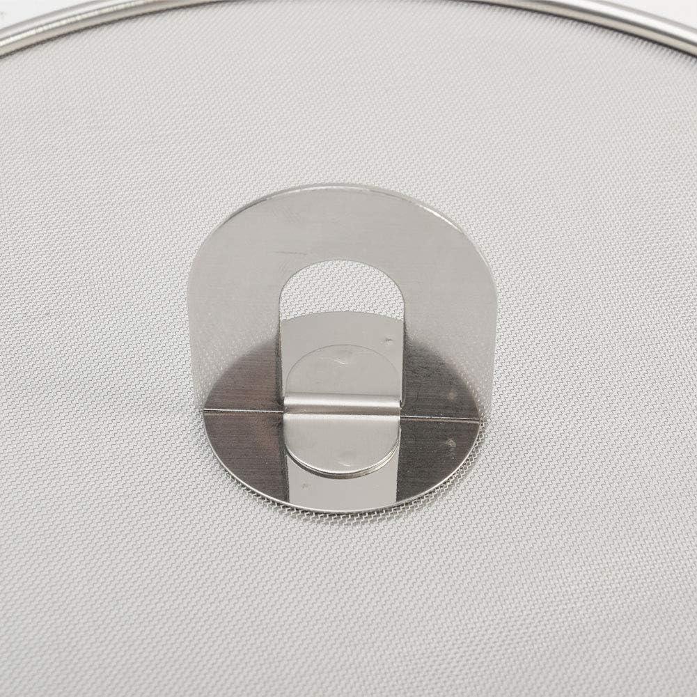 Couvercle de po/êle anti-/éclaboussures en acier inoxydable r/ésistant /à lhuile 25cm Voir image