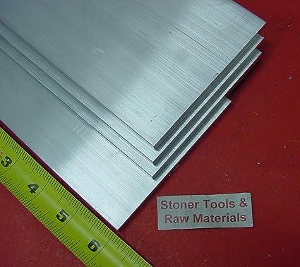 1//4 X 5 ALUMINUM 6061 FLAT BAR 12 long T6511 Solid .250 New Mill Stock