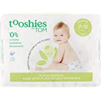 Tooshies by TOM Nappies for Crawler, 62 count (2 x 31 pack)