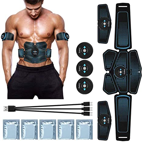 ABS Stimulator Bauchmuskeltrainer EMS Trainingsgerät Exerciser Muscle Trainer